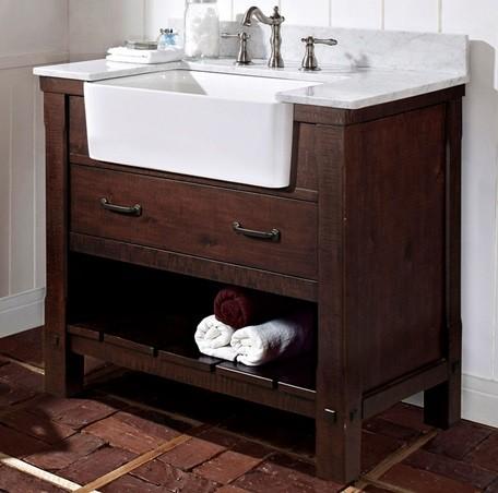 Bath Vanity 36 Quot Farmhouse Bathroom Vanities And Sink Consoles Boston By Vanity World