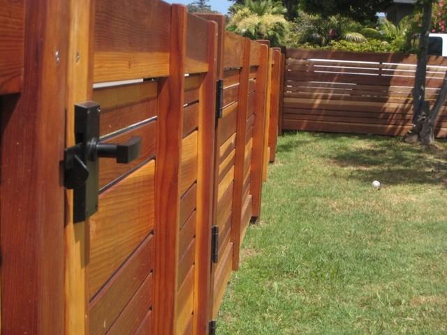 Nero Contemporary Lever Gate Latch - Midcentury - Door Hardware - portland - by 360 Yardware