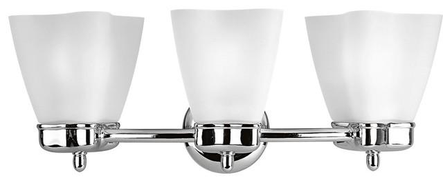 Delta Michael Graves Modern / Contemporary Bathroom / Vanity Light X-51-2423P contemporary-bathroom-vanity-lighting