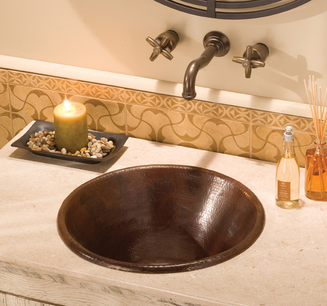 Antique Copper Sink by Native Trails - Traditional - Bathroom Sinks ...