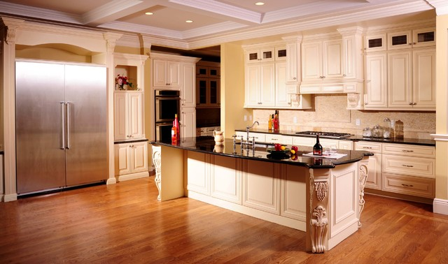 High Quality Stock/ Semi-Custom Cabinets contemporary-kitchen-drawer-organizers