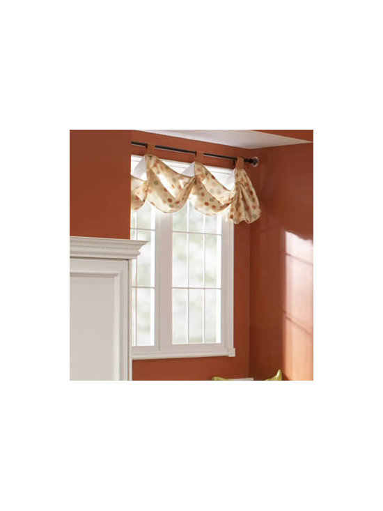 Window Treatment - How you cover a window can make a huge difference in how a room feels. Heavy drapes can be opulent, but smaller curtains that let more light in can feel lighter and more spacious.