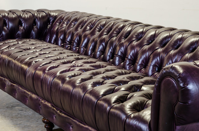 Tufted seat chesterfield sofas charlotte by cococo for Button tufted chaise settee velvet aubergine