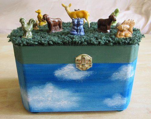 Hand Made Home Accents- on Etsy eclectic-storage-bins-and-boxes