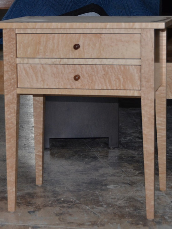 Wallace Birdseye Bedroom Furniture - Solid Wood Furniture - Hand Crafted - Kevin