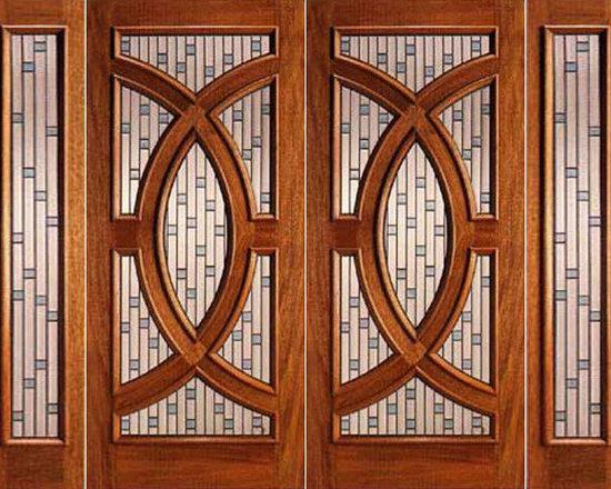 """Mahogany Prehung Double Door and Two Sidelite, Circle Decorative Glass - SKU#PL-02_2-2BrandAAWDoor TypeExteriorManufacturer CollectionBudget DoorsDoor ModelDoor MaterialWoodWoodgrainMahoganyVeneerPrice4160Door Size Options2(30"""")+2(12"""") x 80"""" (7'-0"""" x 6'-8"""")  $02(36"""")+2(12"""") x 80"""" (8'-0"""" x 6'-8"""")  +$402(30"""")+2(12"""") x 96"""" (7'-0"""" x 8'-0"""")  +$9802(36"""")+2(12"""") x 96"""" (8'-0"""" x 8'-0"""")  +$1020Core TypeSolidDoor StyleCircle , ModernDoor Lite StyleRadius LiteDoor Panel StyleHome Style MatchingContemporary , VictorianDoor ConstructionEngineered Stiles and RailsPrehanging OptionsPrehungPrehung ConfigurationDouble Door with Two SidelitesDoor Thickness (Inches)1.75Glass Thickness (Inches)3/4Glass TypeTriple GlazedGlass CamingZincGlass FeaturesTempered , Insulated , BeveledGlass StyleGlue ChipGlass TextureGlass ObscurityDoor FeaturesDoor ApprovalsDoor FinishesDoor AccessoriesWeight (lbs)1190Crating Size25"""" (w)x 108"""" (l)x 52"""" (h)Lead TimeSlab Doors: 7 daysPrehung:14 daysPrefinished, PreHung:21 daysWarranty"""