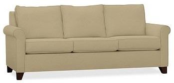 Cameron Roll Arm Upholstered Sofa, Polyester Wrap Cushions, everydaysuede(TM) Oa traditional-sofas
