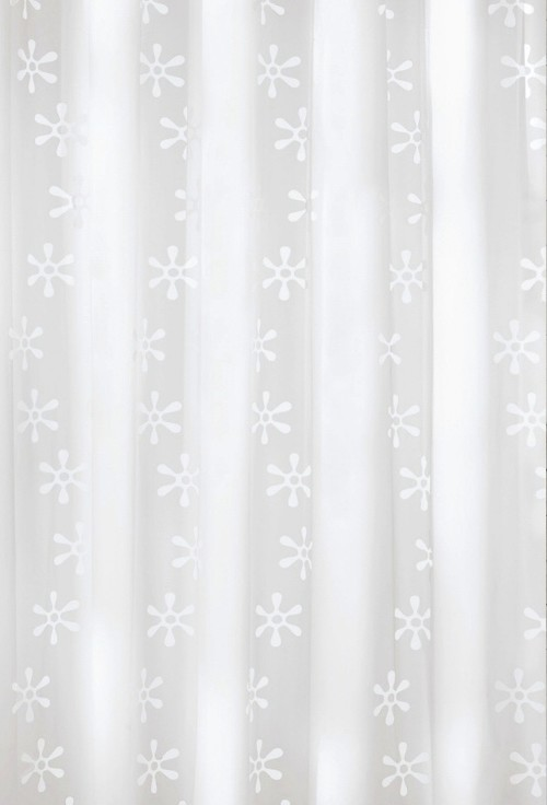 is this shower curtain translucent, will it let light through?