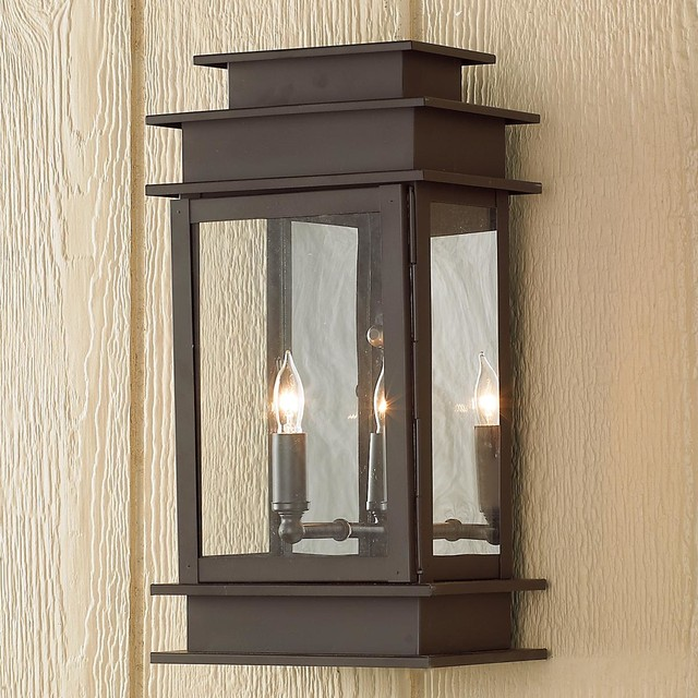 Large Rectangular Step Outdoor Light Outdoor Wall Lights And Sconces By Shades Of Light