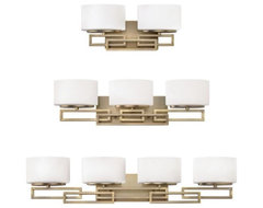 Lanza Bathbar contemporary bathroom lighting and vanity lighting
