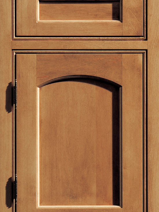 """Dura Supreme Cabinetry - Dura Supreme Cabinetry Hampton Panel Inset Cabinet Door Style - Dura Supreme Cabinetry """"Hampton Panel"""" inset cabinet door style in Maple shown with Dura Supreme's """"Clove"""" finish. (With beaded frame)"""