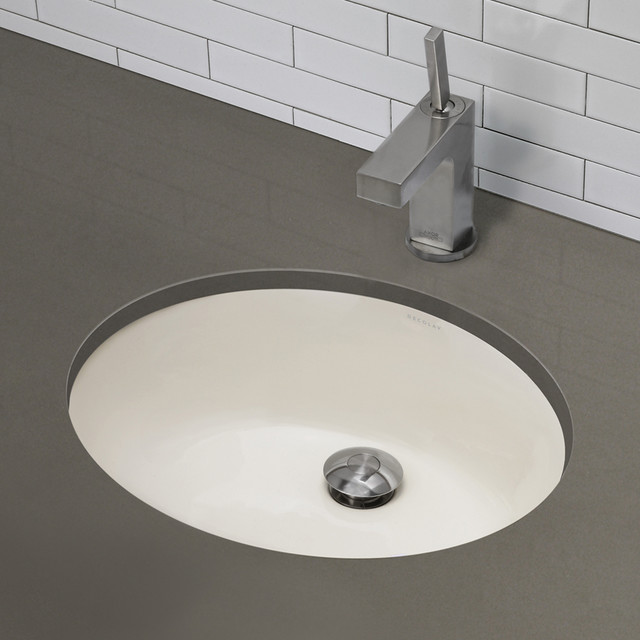 Decolav 1401-C Classically Redefined Undermount China Basin - Modern - Bathroom Sinks - by ...