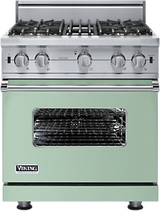 contemporary gas ranges and electric ranges Viking 30-Inch Custom Sealed Burner Range