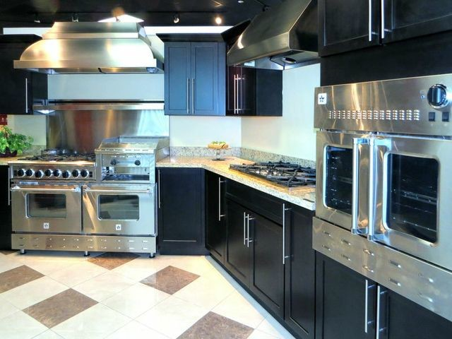 A BlueStar Heritage Classic Range with a BlueStar Wall Oven contemporary