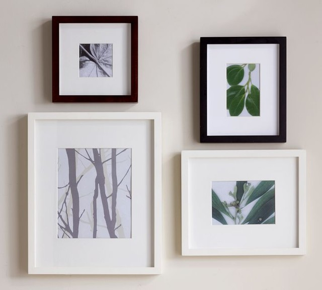 Wood Gallery Single Opening Frames modern-picture-frames