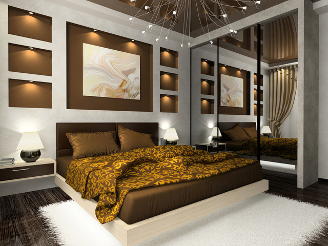 Modern & Simplistic contemporary bedroom
