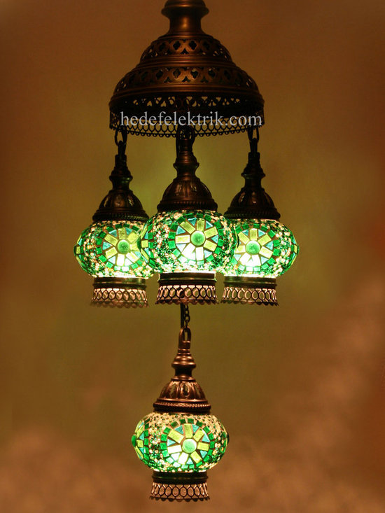 Turkish Style - Mosaic Lighting - Code: HD-04160_50