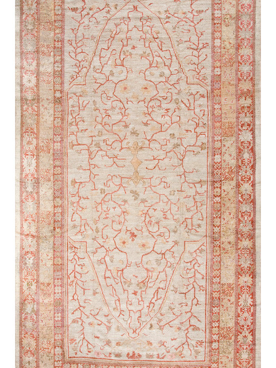 Antique Turkish Oushak Carpets - #17541