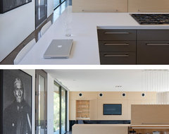 Levin Residence - Modern - Kitchen - phoenix - by Ibarra Rosano Design Architects