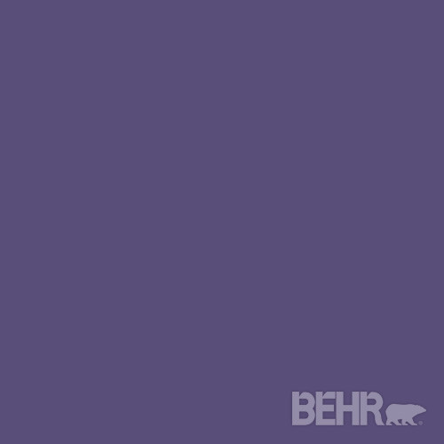 BEHR MARQUEE™ Paint Color Perpetual Purple MQ5-42 modern-paint