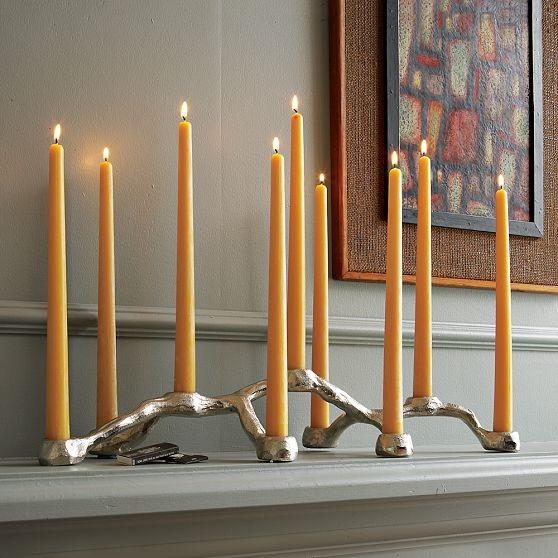 New Root Candelabra modern-candleholders