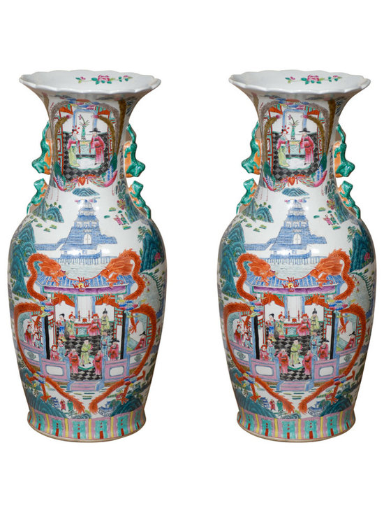 Current Inventory for Purchase - Pair of Large Vases