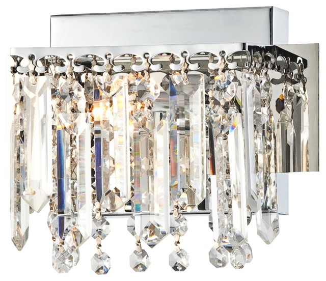 How High To Hang Vanity Lights : Possini Euro Design Hanging Crystal 7 3/4