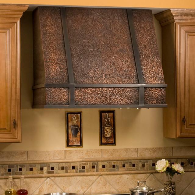 Copper range hood mediterranean-kitchen-products