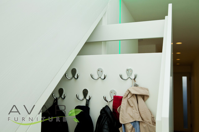 Under stairs storage solution - Contemporary - Closet Storage - london - by Bespoke Fitted ...