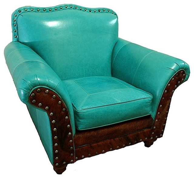 Great blue heron albuquerque turquoise club chair for Great living room chairs