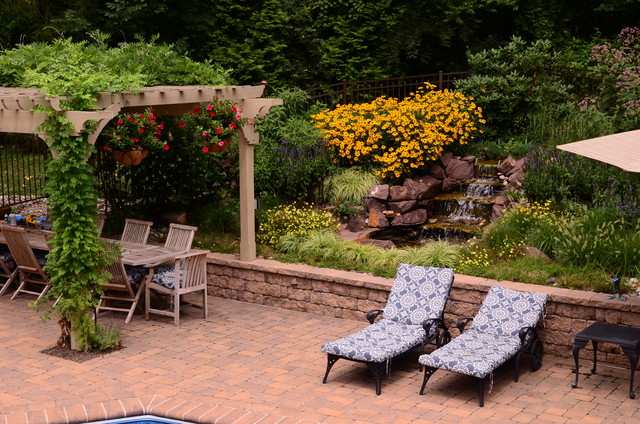 West Chester Residence traditional-landscaping-stones-and-pavers