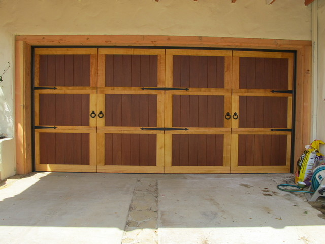 Carriage house with hemlock and cedar plank background for Cedar wood garage doors price