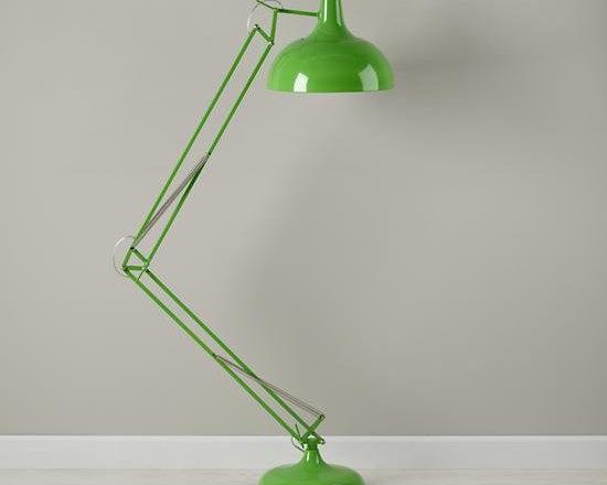 Giant Green Floor Lamp -