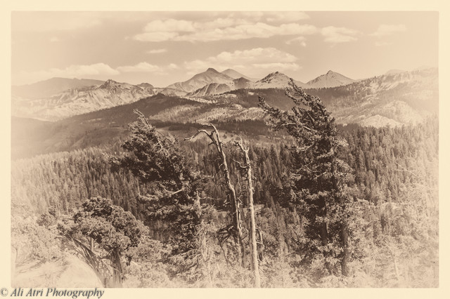 """Mokelumne Peak"" by Ali Atri Photography traditional-artwork"