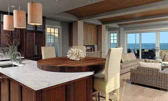 Walnut Countertop Table. Designed By Jennifer Gilmer