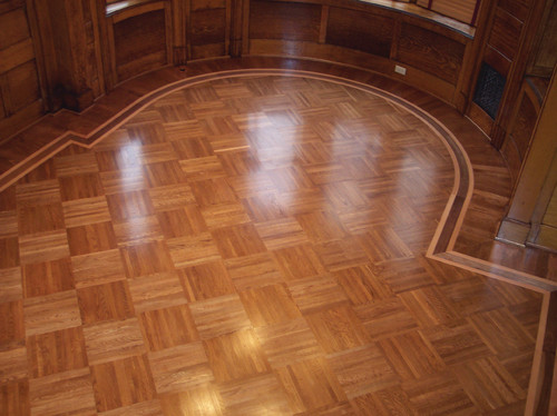 I need about 20 to 30 square feet of parquet flooring for Square hardwood flooring