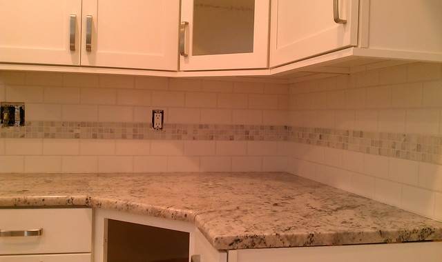 backsplash white 3x6 subway tile white gray marble mosaic accent