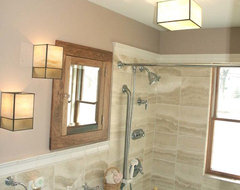 For a 5x7 bathroom are small tiles better than large - 5x7 bathroom remodel pictures ...