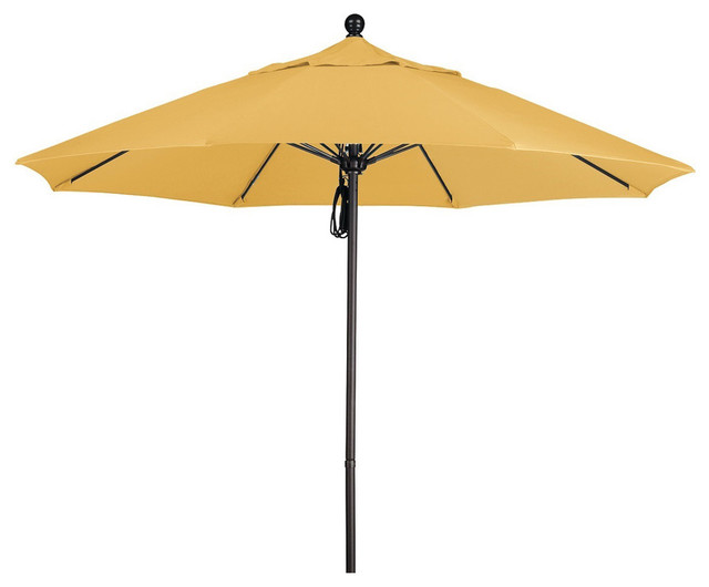 Commercial 9-foot Aluminum Umbrella with Sunbrella Fabric contemporary-outdoor-umbrellas