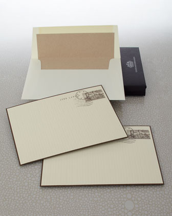 Checkerboard Eight Journey Cards & Envelopes traditional-desk-accessories