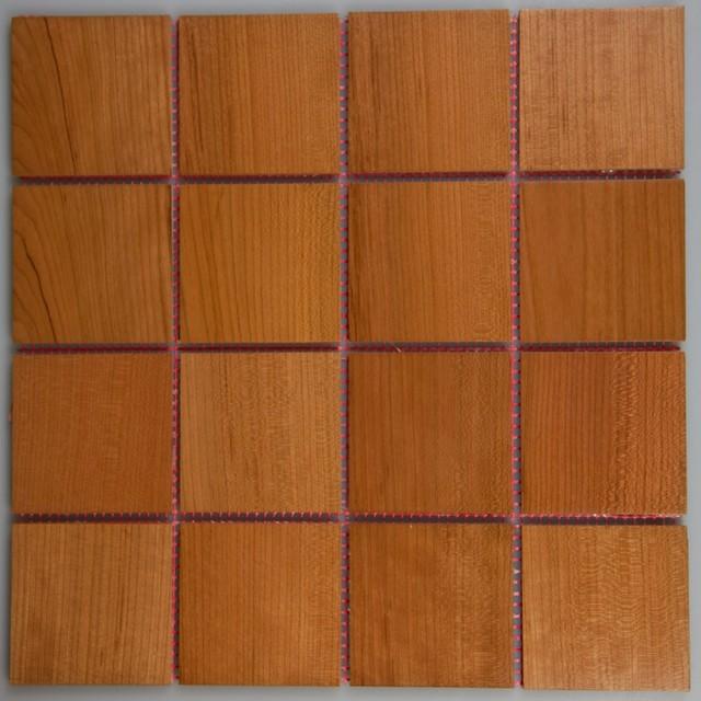 Exotic Wood Tile modern