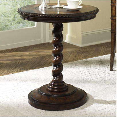 Hidden Treasures Twisted End Table modern-side-tables-and-end-tables