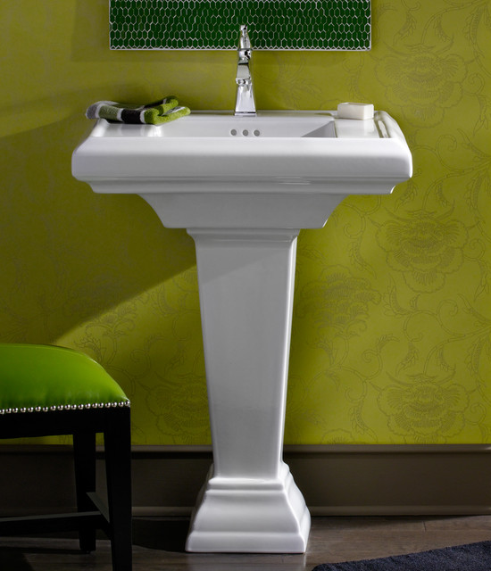 Bathroom Pedestal Sink : Town Square 27
