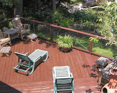 Ultra-tec Deck Cable Railing modern