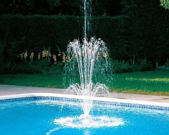 Polaris WaterStars Floating Pool Water Fountain - -Up to 16 feet water height