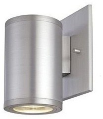 Silo Single Exterior Wall Sconce by CSL contemporary-outdoor-wall-lights-and-sconces