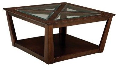 Standard Furniture City View Cocktail Table with Casters modern-coffee-tables