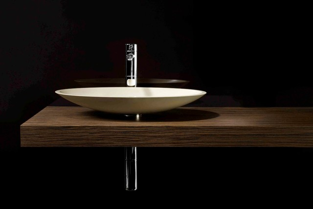 Ovo Hand Basin Modern Bathroom Sinks Other Metro By Minosa