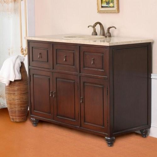 Virtu USA Verona 48-in. Single Bathroom Vanity LS-1009 traditional-bathroom-vanities-and-sink-consoles