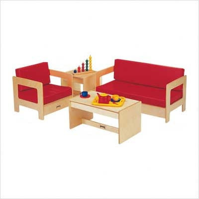 Jonti craft living room set 4 piece modern kids for Living room 4 chairs